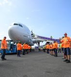 Hawaiian Airlines recruiting at Kona International Airport