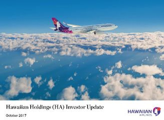 Hawaiian Holdings Initiates Quarterly Dividend
