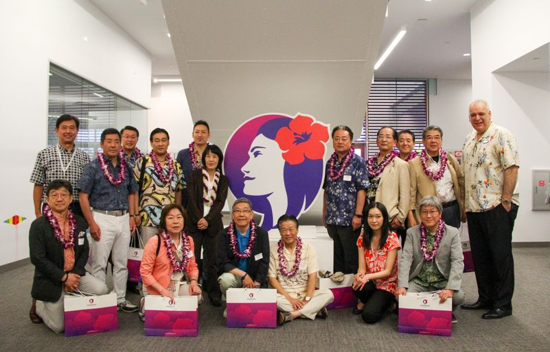 Hokkaido Government Visit to Koapaka - 2017
