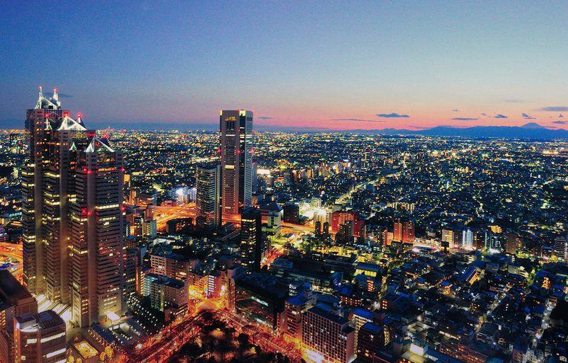 Aerial Tokyo