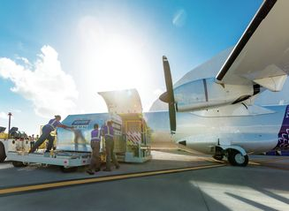 Ohana by Hawaiian ATR72 Loading