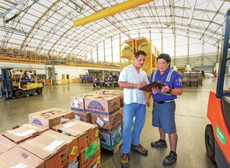 HA Cargo Agent with Customer