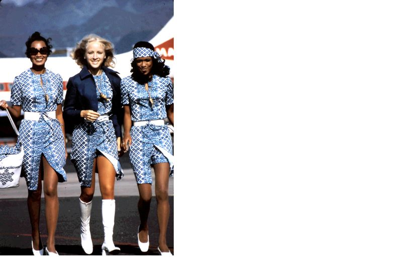 1971 Stewardess Uniforms