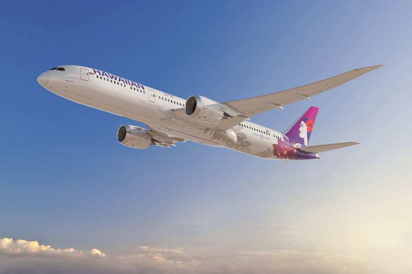 Hawaiian Airlines Selects Partners  for Development of Boeing 787-9 Dreamliner Seats