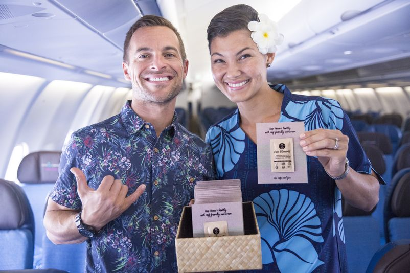 Hawaiian Airlines  Raw Elements USA CEO Brian Guadagno