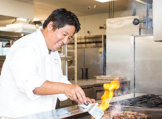 Chef Noguchi Action Shot