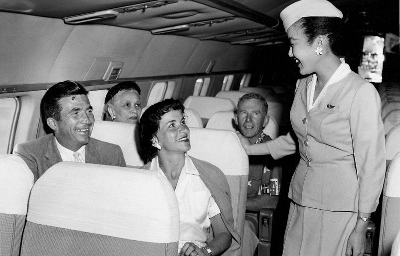 1959. DC-6 Interiorr
