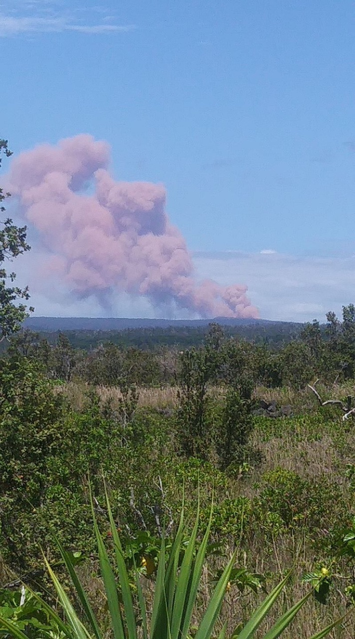 Kilauea - Distant Photo