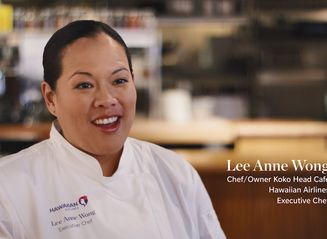 Hawaiian Airlines Executive Chef Lee Anne Wong