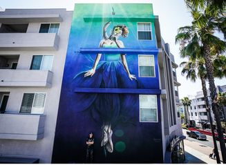 Renowned Hawai'i Street Artist Completes First Mural Commissioned by Hawaiian Airlines