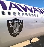 Hawaiian Airlines, Oakland Raiders Extend Partnership