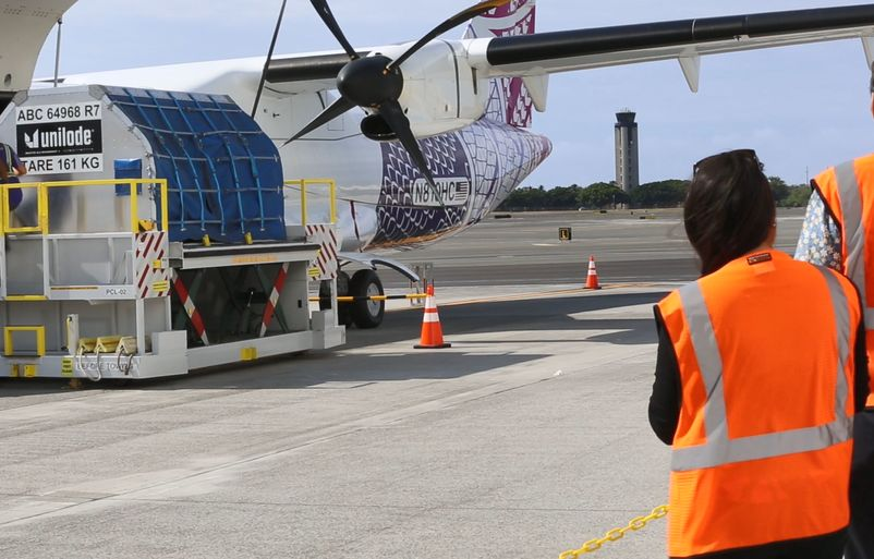 Building a More Resilient Hawai'i, One Cargo Flight at a Time