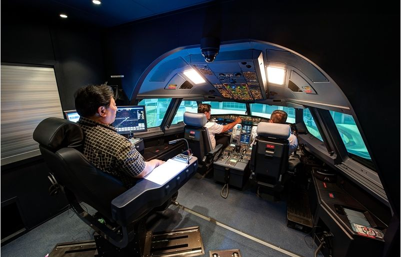 A330 Simulator Hawaiian_159