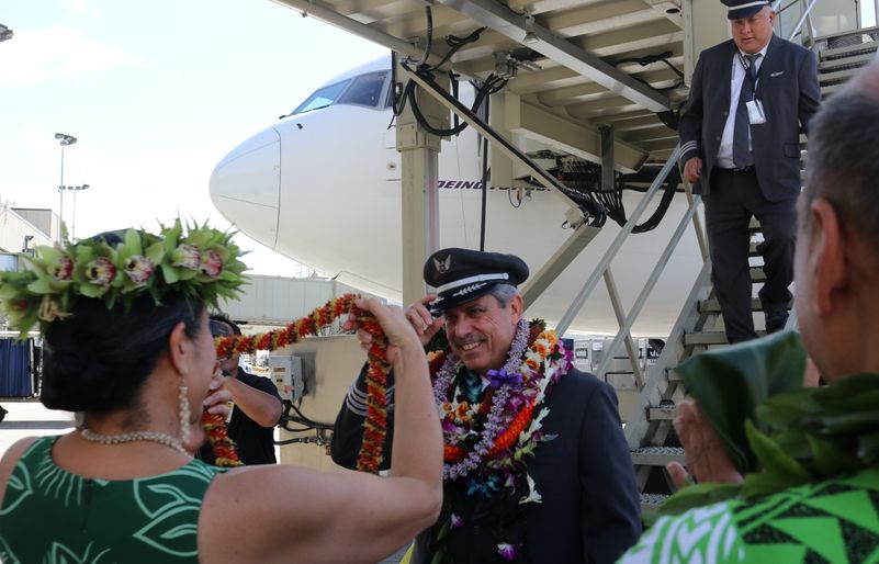 Hawaiian Airlines co-captain of HA19