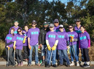 Team Kōkua cleans San Jose's Coyote Creek