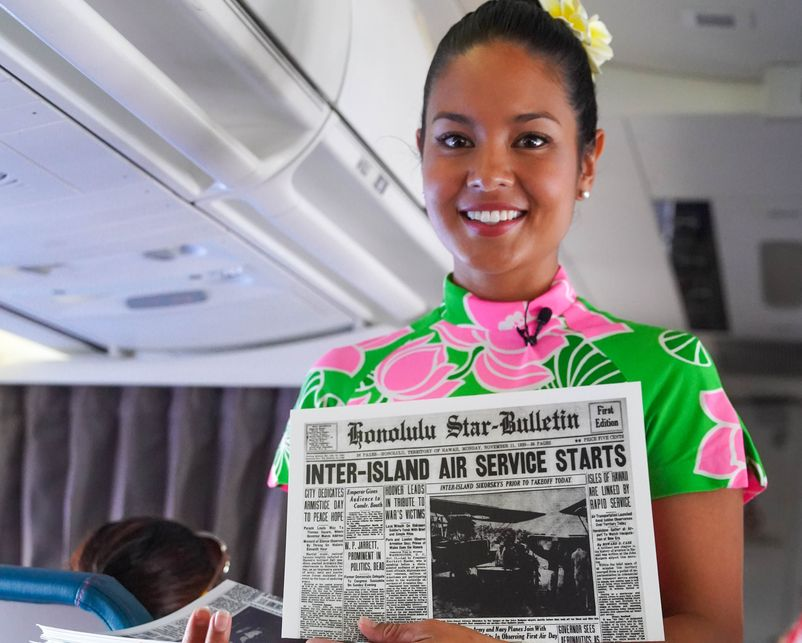 90 Years After Proclaiming, 'The air is now yours,'  Hawaiian Airlines Marks Milestone Anniversary