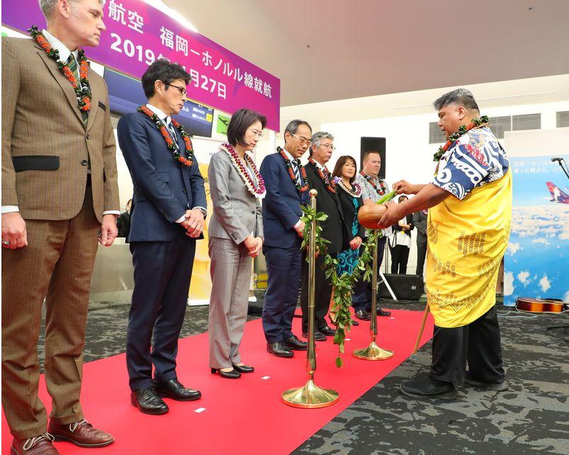 Hawaiian Airlines Inaugurates New Fukuoka Service