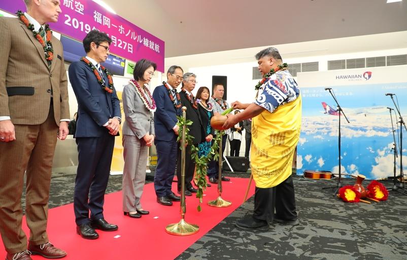 Fukuoka to Honolulu Launch