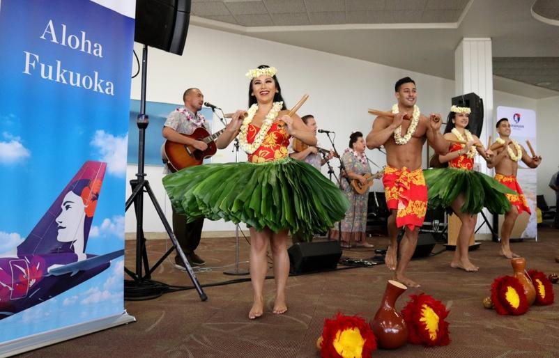 Honolulu to Fukuoka Launch 2