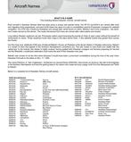 Hawaiian Airlines Aircraft Names