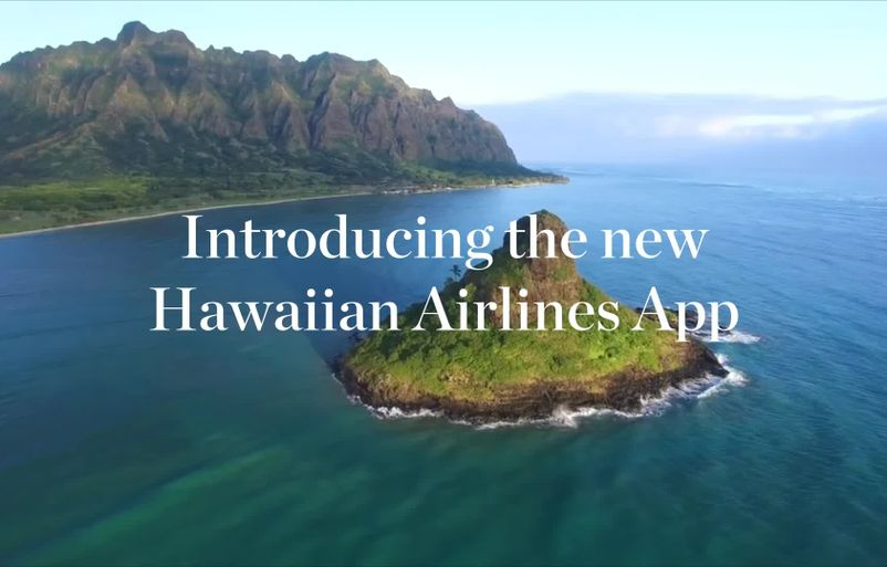 Say Aloha to Our New Mobile App – and A Chance to Win Miles!