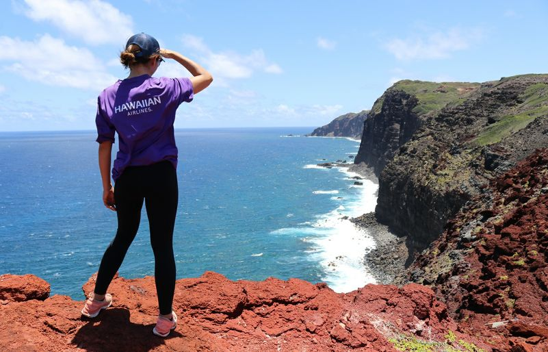 'Ohana by Hawaiian Anniversary (Part 2 of 2): Team Kōkua Helps Restore the Mokio Preserve
