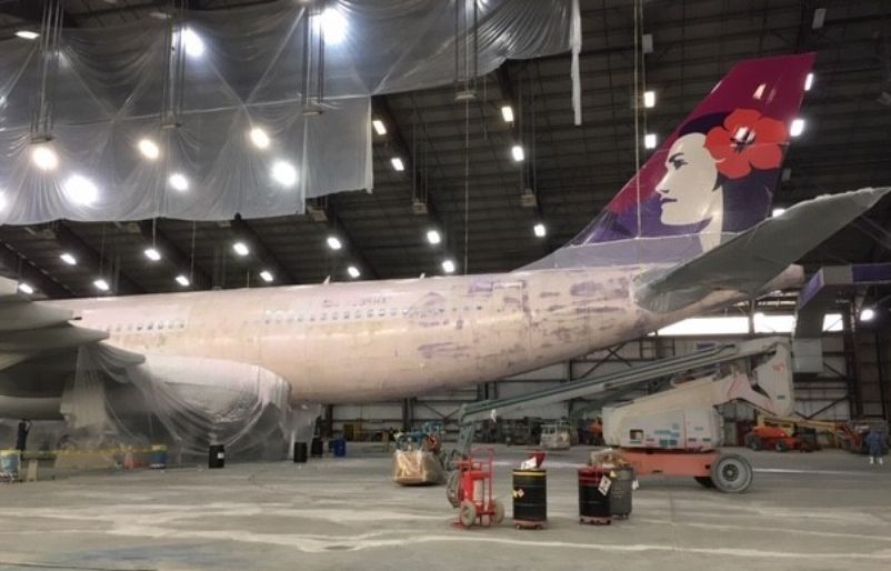 How to Paint a Hawaiian Airlines Airplane