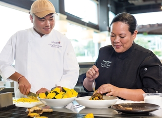 Chef Chung and Chef Wong