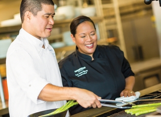 Chef Oto and Chef Wong