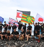 Teenage Eco-Ambassadors Clean Up Plastic Trash from Hawaii's Shoreline