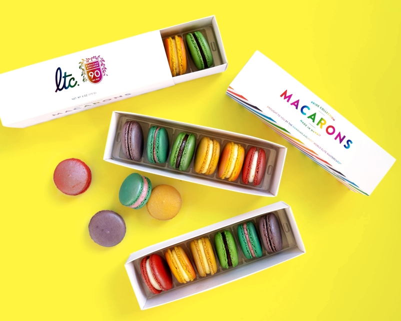 Hawaiian Airlines and La Tour Café Celebrate Pride Awareness Month with Special Edition Macaron Box Set