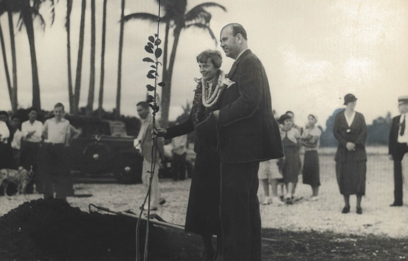 Flyback Friday: Amelia Earhart's Historical Day with Our Founders