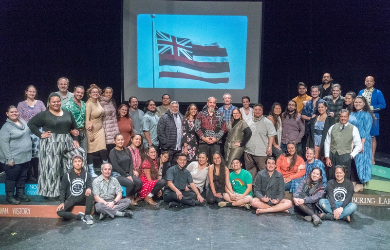 UH Mānoa Play, ʻAuʻa ʻIa: Holding On, Brings 'Ōlelo Hawai'i to the New York Stage
