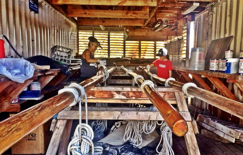 Canoe maintenance