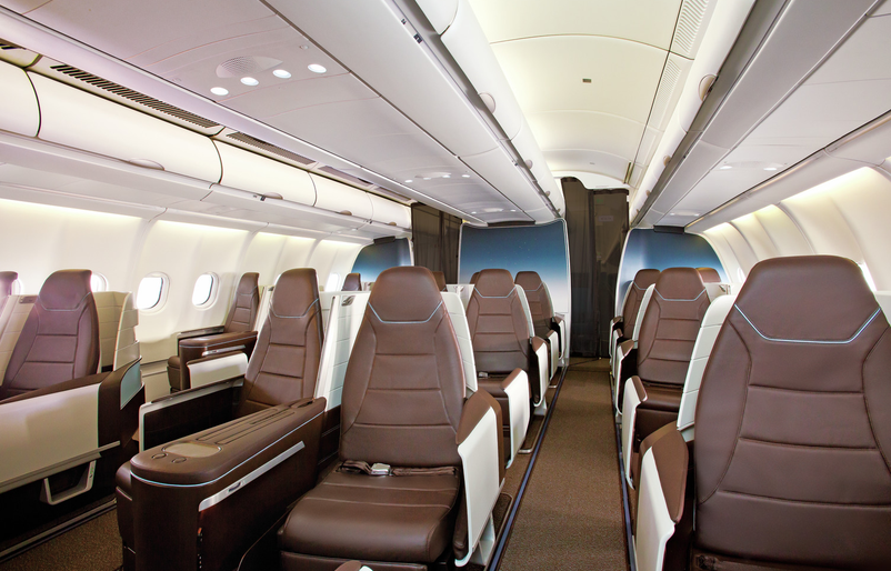 A330 First Class Lie-Flat Seats