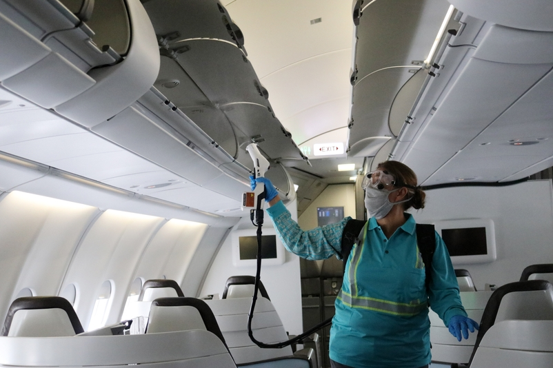 Spraying Business Class