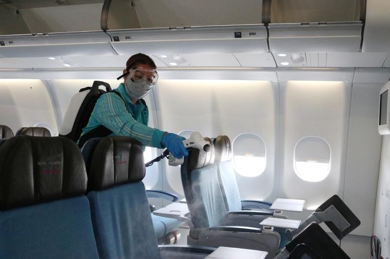 Spraying Main Cabin