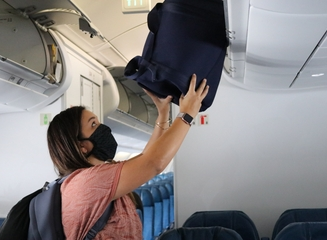 Passenger with Mask