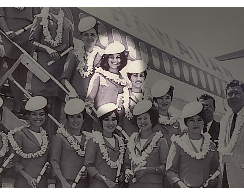 A Hui Hou: Lola Hiatt, 53-Year Flight Attendant