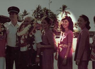 A Hui Hou: Jo-Ann Komori, 51-Year Flight Attendant