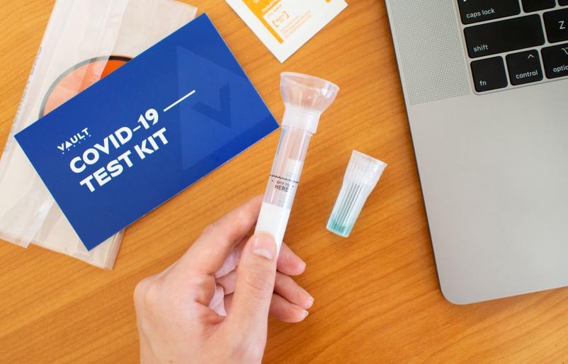 Vault Health At-Home Test Kit