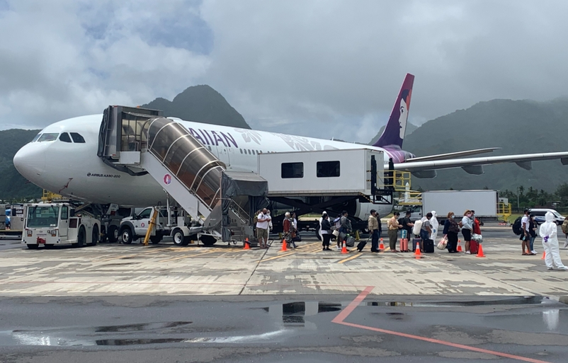 Reuniting American Samoa Families, One Repatriation Flight at a Time