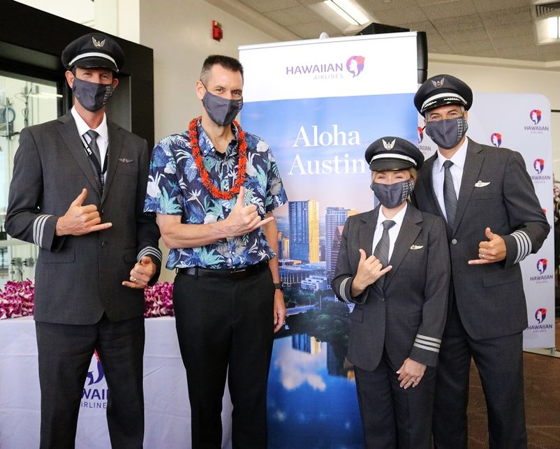 Hawaiian Airlines Lands in the Lone Star State