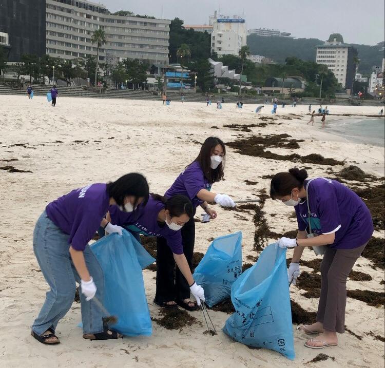 Beach clean_hz