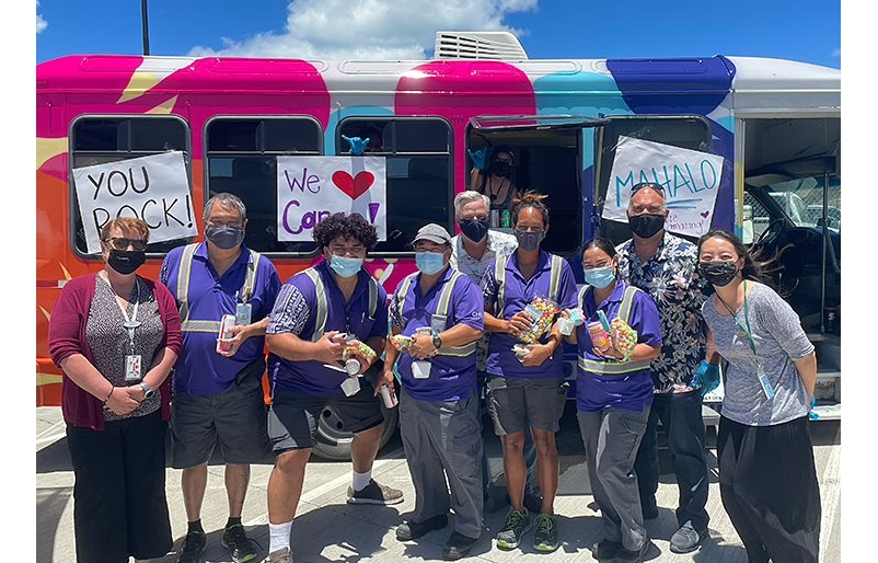 Mahalo on Wheels: Delivering Thanks to Our Employee ʻOhana