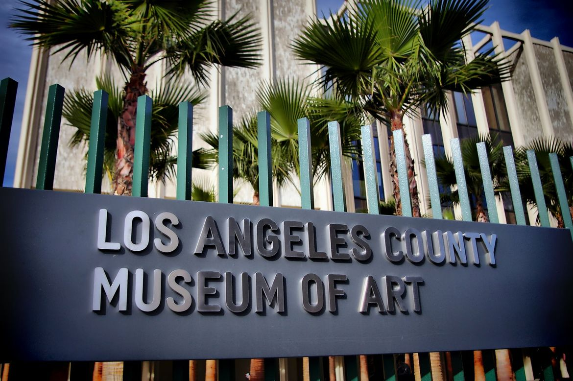 LA County Museum of Art (LACMA) exterior