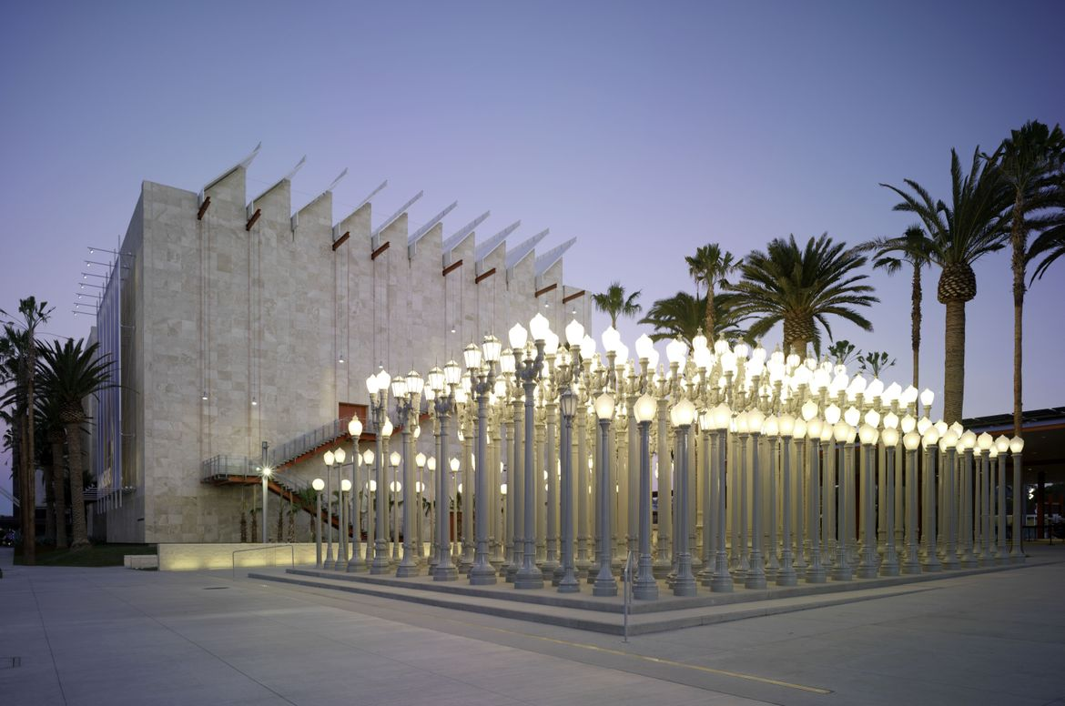 Urban Lights at LACMA