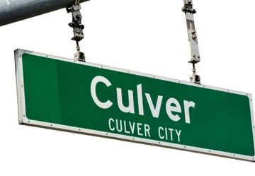 Culver Blvd Street Sign