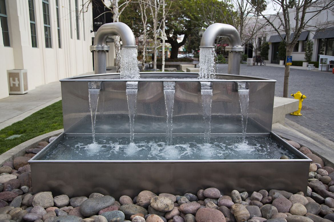 Culver City fountain