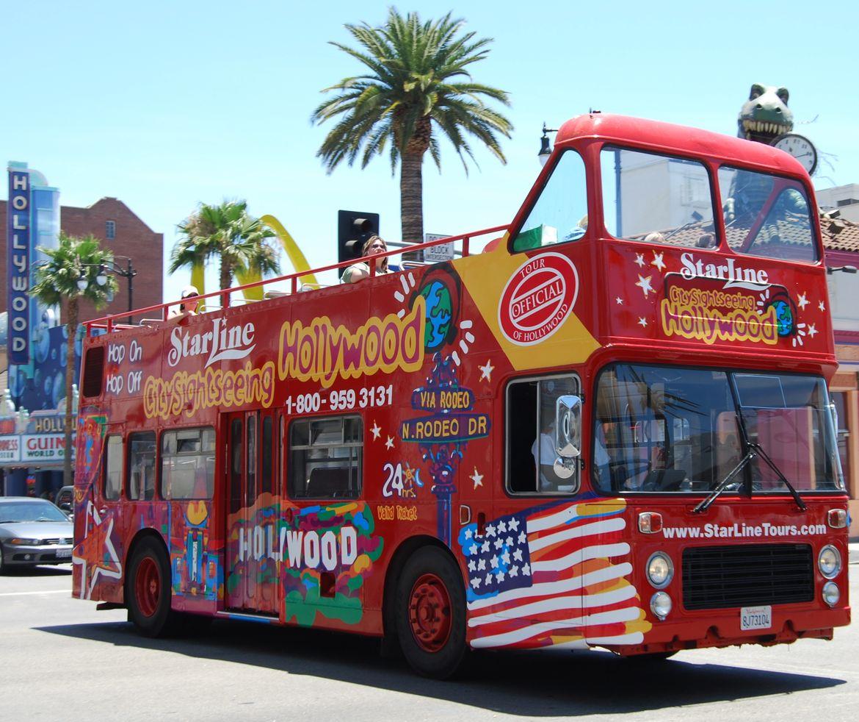 Starline Tours double decker bus